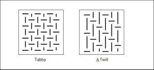 Tabby_vs_twill